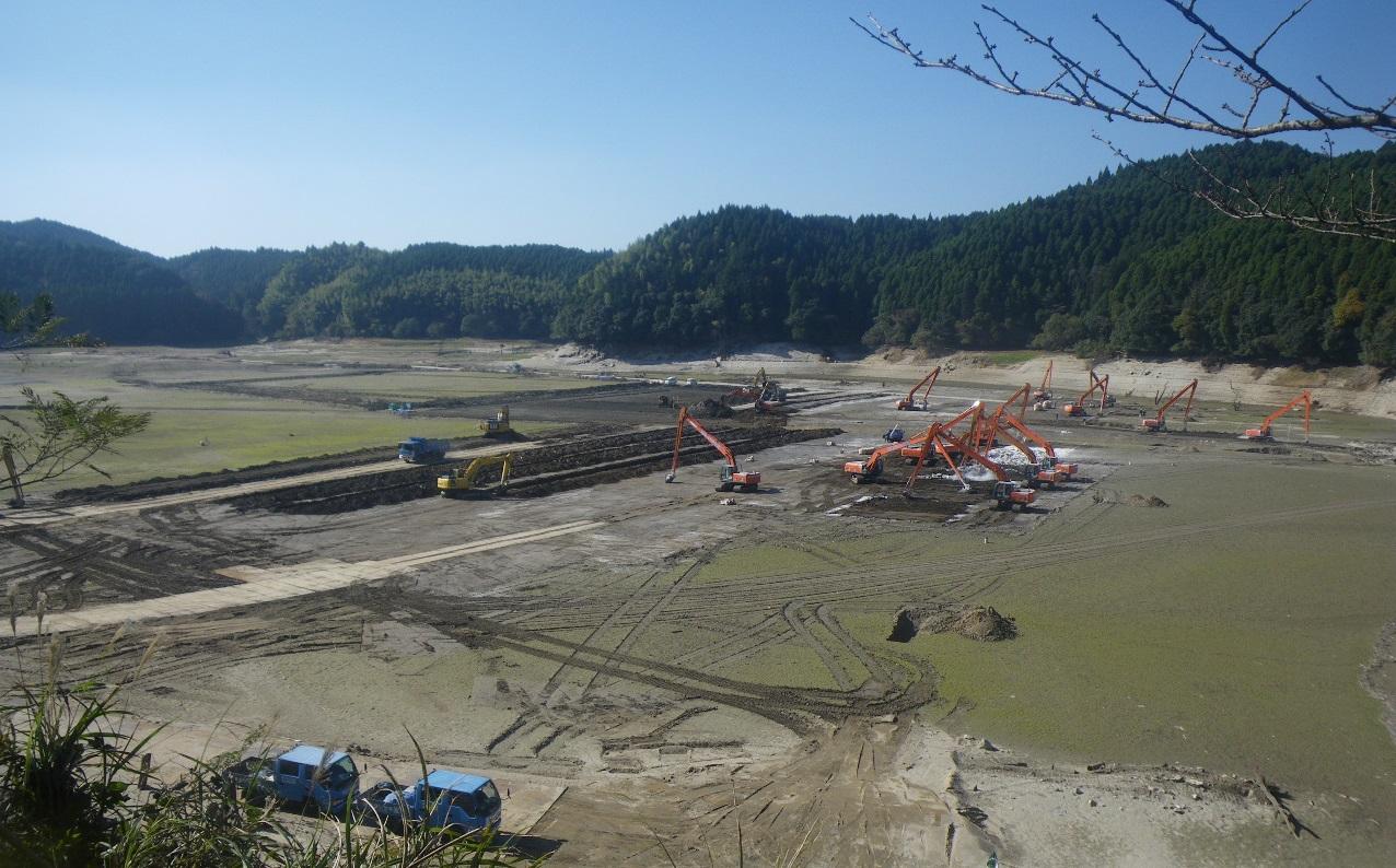 ダムの堆砂除去の重要性