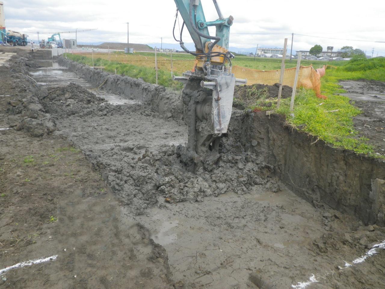 道路の地盤改良に対応するセメント改良材