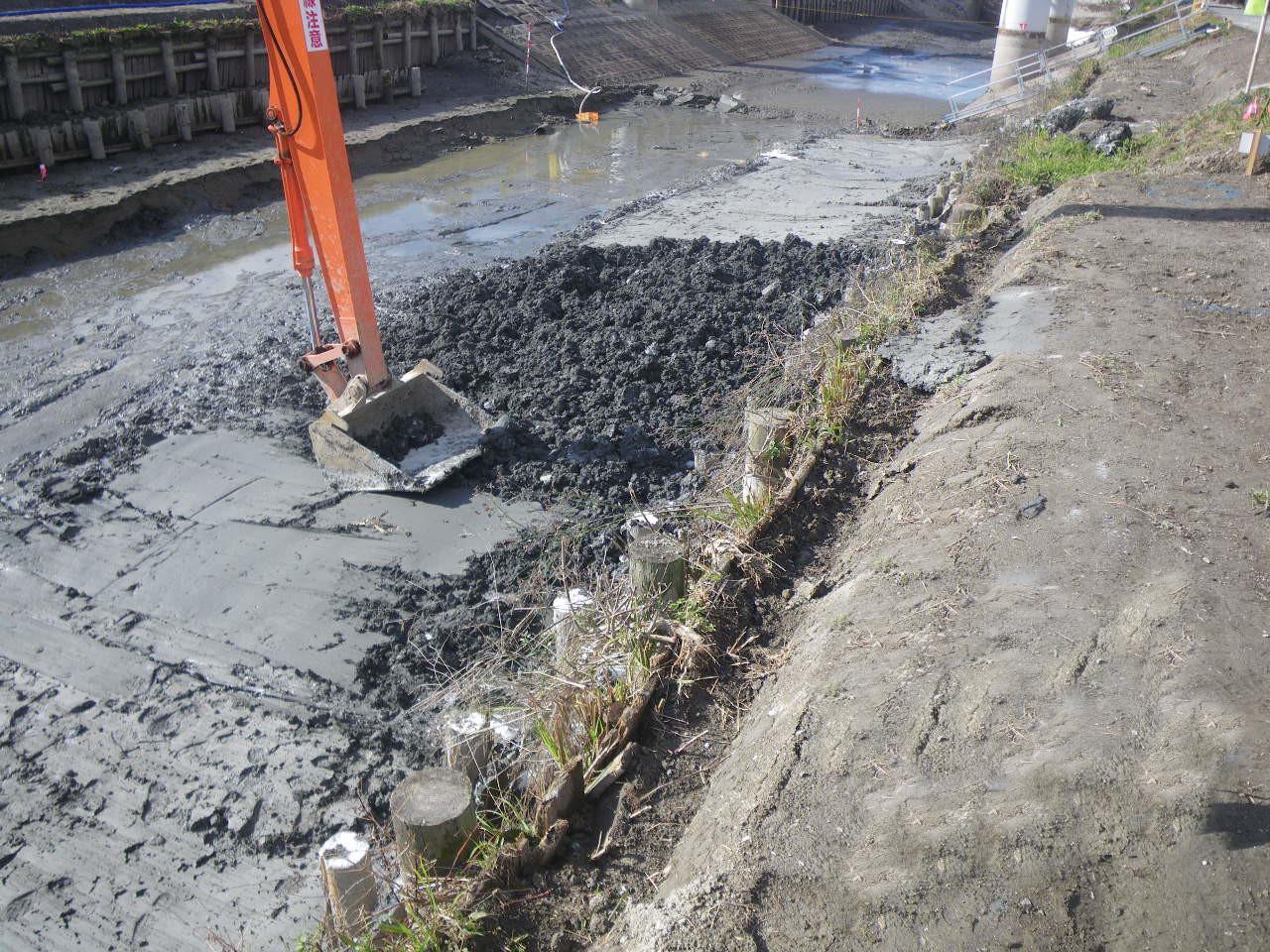 河床の地盤改良で留意すべきこと
