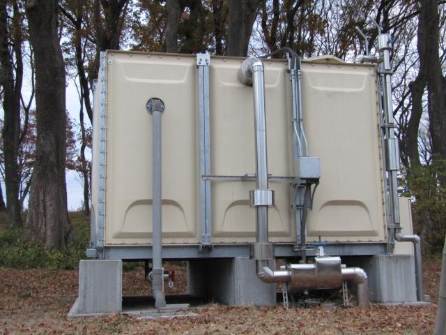 貯水槽の安全を守るために地盤改良