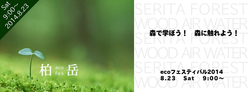 ecoフェスティバル2104 開催します!